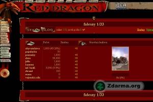red dragon obrazovka