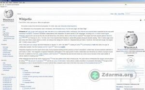 Offline článek na Wikipedii
