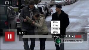 Přehrávat lze video i ve vysokém rozlišení i přes celou obrazovku