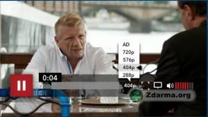 Přehrávání seriálu Neviditelní - možno přehrávat i přes celou obrazovku a ve vysokém rozlišení