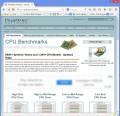 Domovská stránka CPU Benchmarks Charts