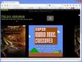 Spuštěná hra ve webovém prohlížeči