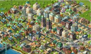Rozvinuté město v Rising Cities