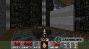 Klasiká ukázka ze hry Freedoom