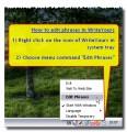 WriteYours nabízí rychlý přístup k editaci frází