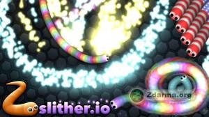 Ukázka ze hry Slither.io