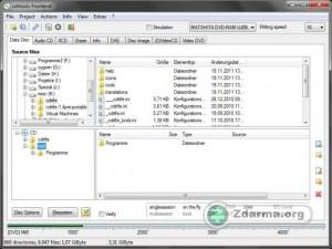 Vytvoření datového disku