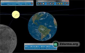 Simulace trajektorie