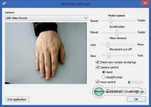 Nastavení webkamery