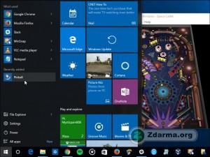 Běh na operačním systému Windows 10