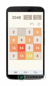 ukázka ze hry - posouvání políček s čísly