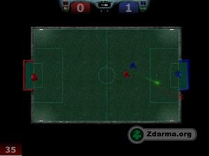 Ukázka ze hraní Future Soccer