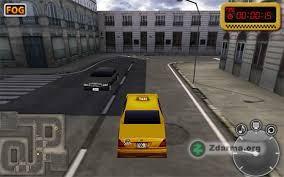 ukázka ze hry Taxi game