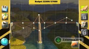 mód stavení mostů - návrh po jednotlivých dílech