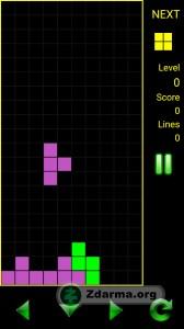 hra je postavena na základech staré znám hry tetris