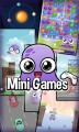 další zábavné mini hry, které jsou součástí aplikace