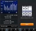 Statistika aplikace Sleep Cycle alarm clock