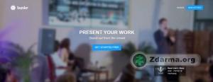 Úvodní obrazovka online služby Bunkrapp