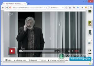 Přehrávání epizody seriálu Reportérka na iVysílání