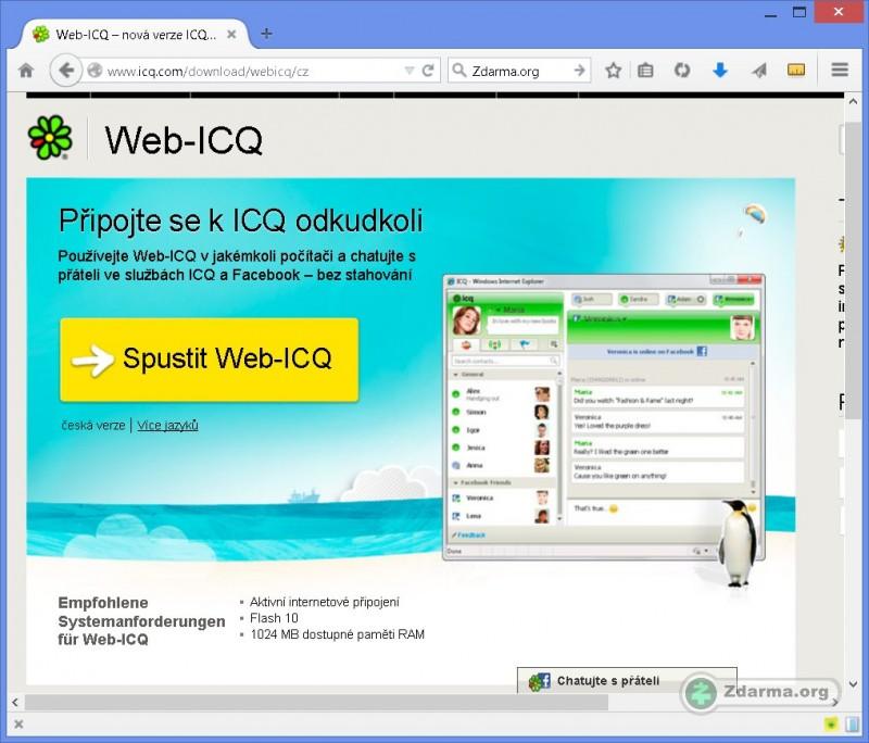 icq2go web: