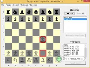 Probíhající hra Šachy