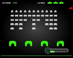 Ukázka hry Free Invaders