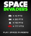 Ukázka bodování ve hře Free Invaders
