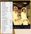 Hlavní menu s možnostmi otevření multimediálních souborů