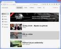 Web Streamu s nejnovějšími pořady