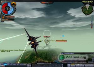 Hra za I-Gear a ničení nepřátel pomocí raket