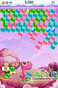 Ukázka ze hry Bubble Shooter Blitz