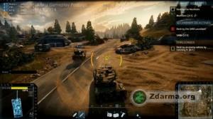 Režim bitvy PvE - hra proti počítači