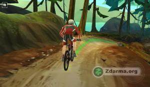 Ukázka ze hraní Bike Unchained