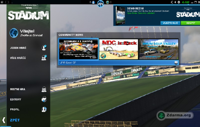 trackmania nations forever online spielen