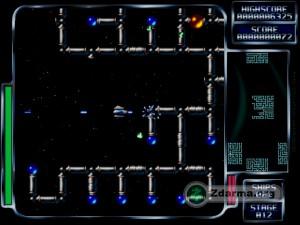 Při hraní hry Kobo Deluxe uvnitř potrubí, které je potřeba zničit a tím i hlavního bosse uvnitř potrubí (oranžová koule). Zničením bosse se zničí celé potrubí.